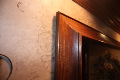 Custom Made Mahogany Wall Miror