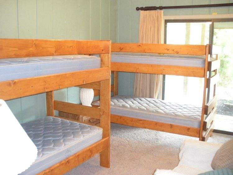 Hand Made Beds ~ Handmade lake house bunk beds by ambassador woodcrafts