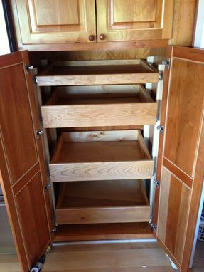 Custom Made Custom Cabinet Poullouts