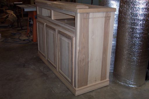Custom Made Hickory Buffet To Clients Specifications