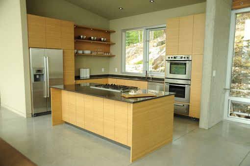 Custom Made Bamboo-Ply Custom Design & Build Kitchen