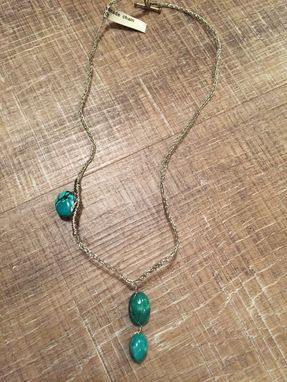 Custom Made Turquoise Necklace