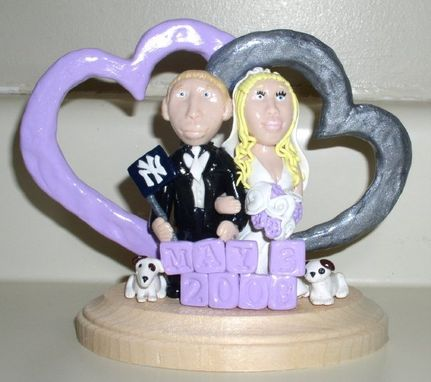 Custom Made Ivy Creations Custom Personalized Wedding Cake Toppers