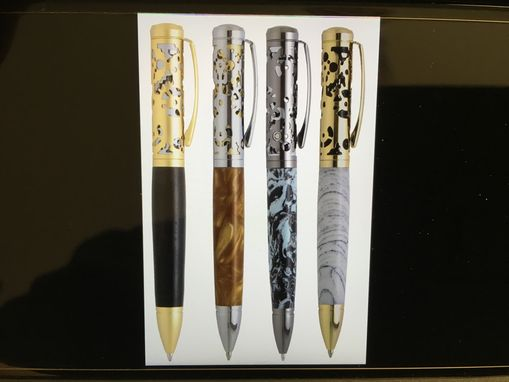 Custom Made Hand Crafted Filigree Style Pen