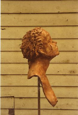 Custom Made Clay Sculpture: Female Head Study