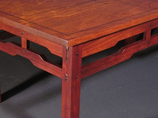 Hand Crafted Greene And Greene Inspired Coffee Table By Gb