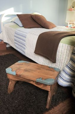 Custom Made Lily, The Small Stepping Stool Bench 1