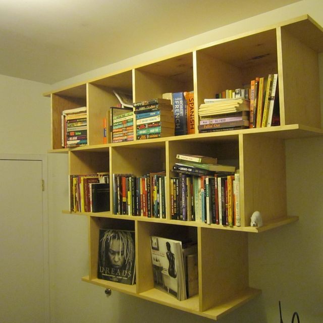 Hand Crafted Wall Hanging Bookcase / Shelves by Wooden-It-Be-Nice ...