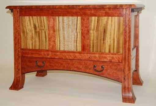 Custom Made Arts And Crafts Style Blanket Chest With Cedar Bottom