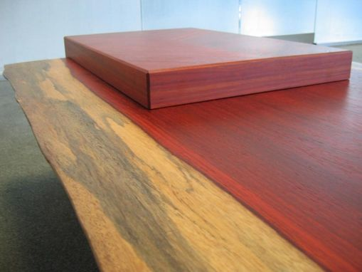Custom Made Padauk Coffee Table/Bench