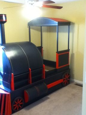 hand crafted custom  train bed  greg boheman custom woodworking custommadecom