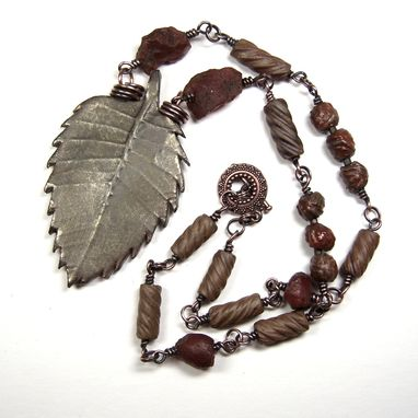 Custom Made Turn Over A New Leaf Necklace