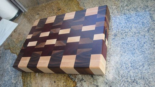 Custom Made End Grain Cutting Board / Butcher Block
