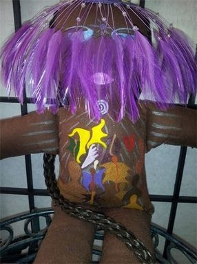 Custom Made Ooak Reiki Attuned Healing Goddess Spirit Doll!© 2013