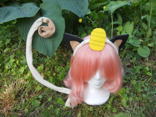 Custom Made Meowth Cosplay Ears - Pokemon