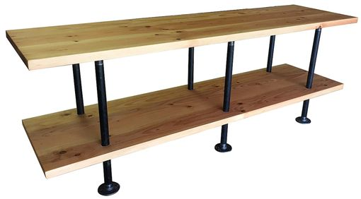 Custom Made Industrial Console Stands