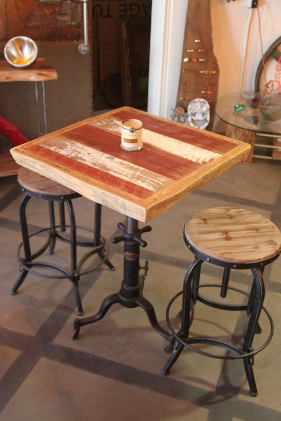 Buy A Hand Made Reclaimed Barn Siding Table Made To Order