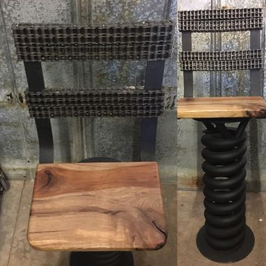 Buy Custom Truck Coil Spring Bar Stools Made To Order