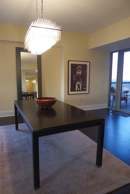 Custom Made Expanding Modern Dining Table