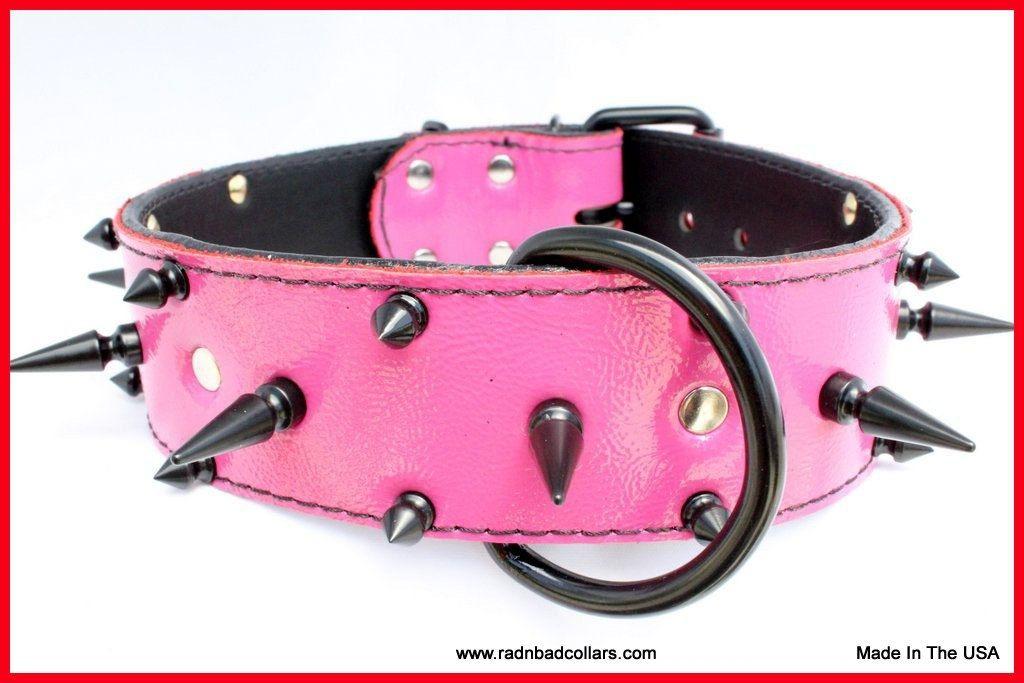 Id Dog Collar Leather