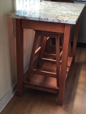 Custom Made Kitchen Table And Stools.