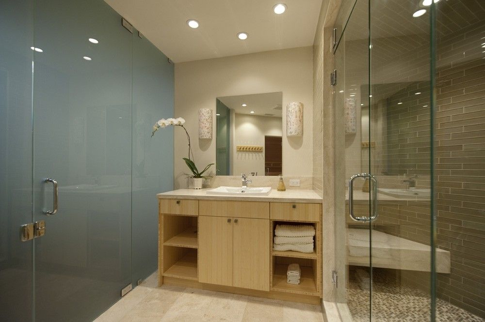 Custom Made Spa Vanity by Serrao Cabinets & Design | CustomMade.com