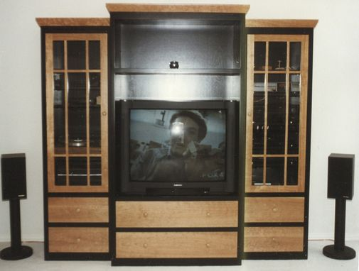 Custom Made Shaker Style Entertainment Cabinet