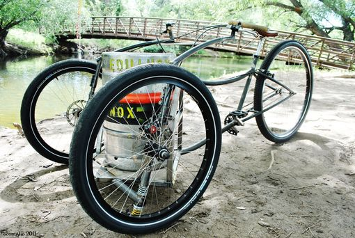 Custom Made The Bootlegger Cargo Trike