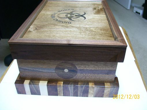 Custom Made Desktop Humidor