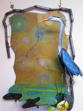 Custom Made Custom Blue Heron!