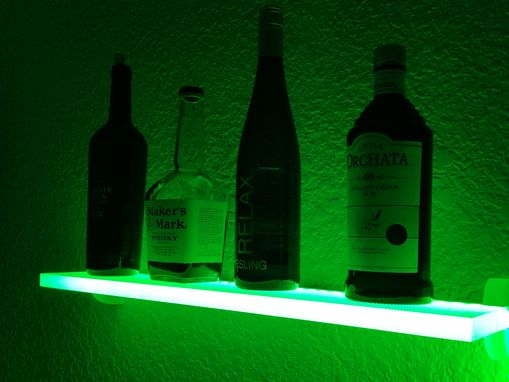 Custom Made Led  Liquor Shelf And Bottle Display 24in. (All Sizes Available)