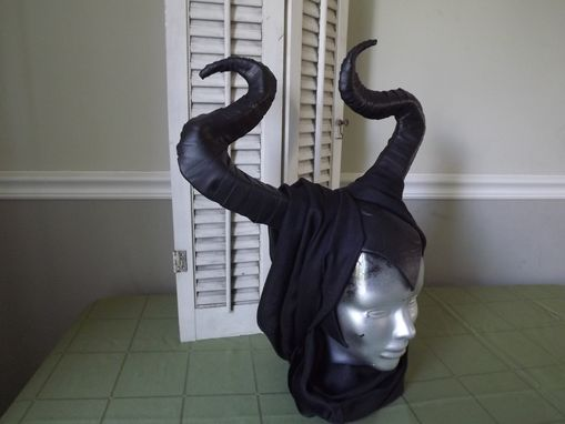 Custom Made Horned Female Mask (Maleficent Like)