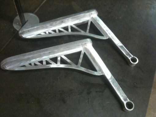Custom Made Aluminum Arm Rests