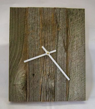 Custom Made Rustic Clock