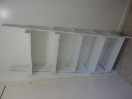 Custom Made Angled Ladder Shelf