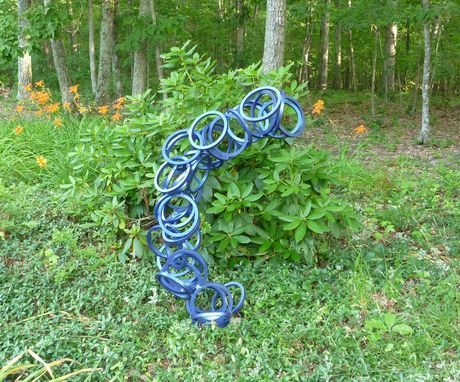Custom Made Outdoor Abstract Metal Scultpure, Yard Art Or Interior Art