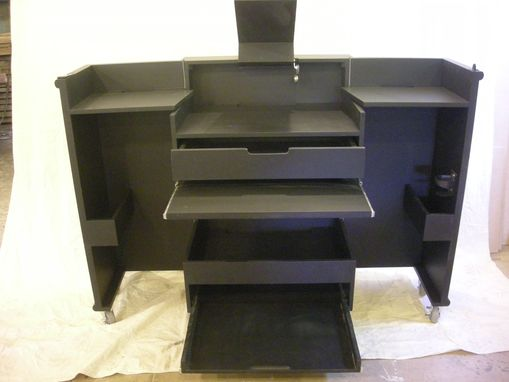 Custom Made Origami Portable Dj Booth