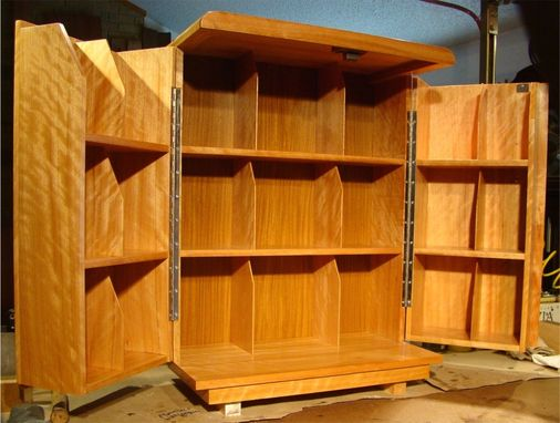 Custom Made Desktop Bookcase Storage