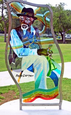 "Custom Made ""Pops"" Carter Glass Sculpture: Example Of Public Art Projects"