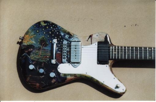 Custom Made Solidbody Electric Guitar Custom Body Style