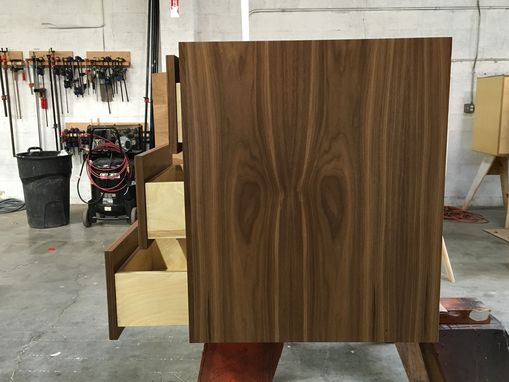 Custom Made Floating Walnut Vanity