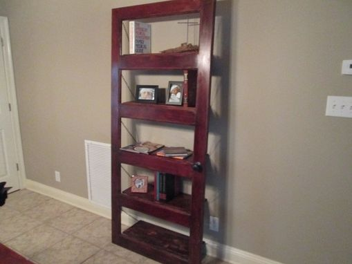 Custom Made Antique Door Book Shelf