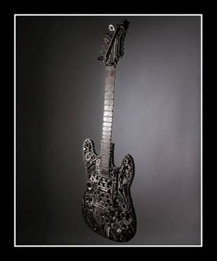 Custom Made Welded Guitar Light