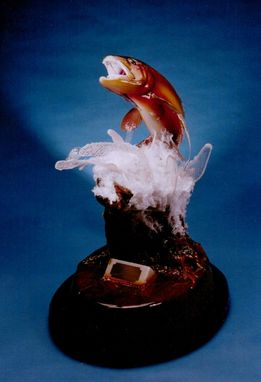 Custom Made Golden Trout Sculpture