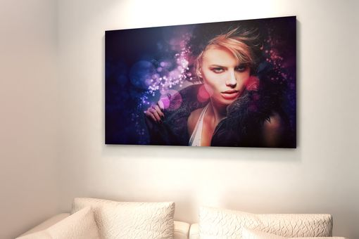 Custom Made Bokeh Lighting Portrait Digital Painting From Photo