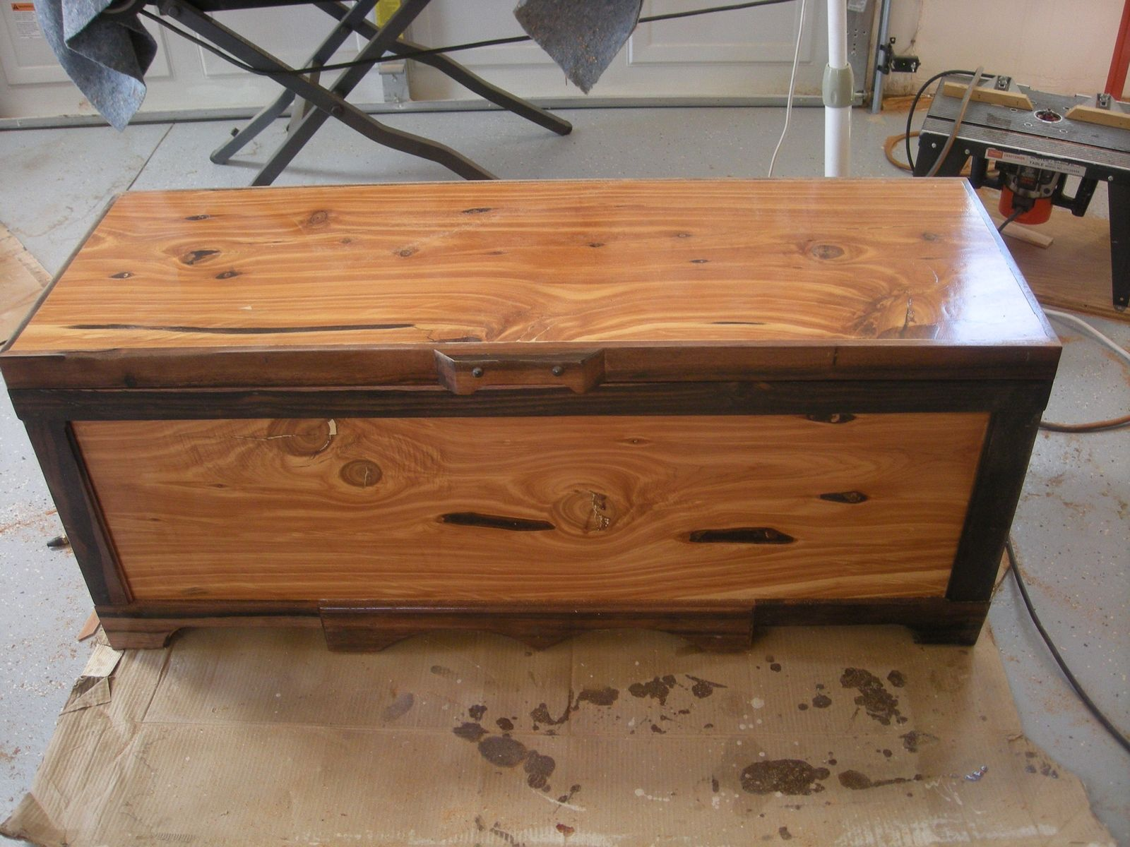 Custom Made Hope Chest by Woodworking | CustomMade.com
