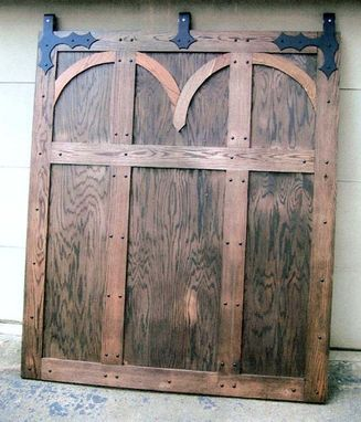 Custom Made Medieval Interior Barn Door