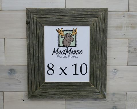 Custom Made Barn Wood Picture Frame Classic 3""