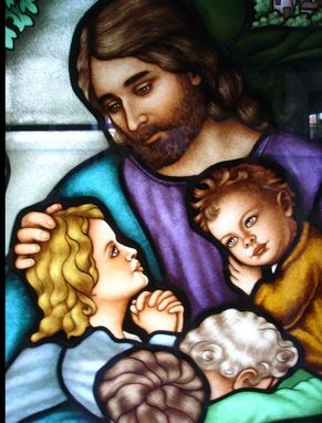 Custom Made Jesus With Children