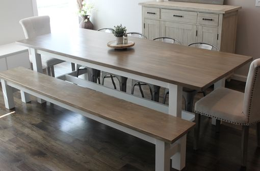Custom Made Customized Farmhouse Dining Table